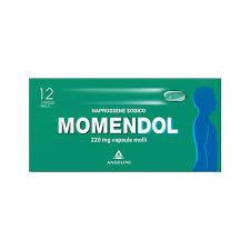 MOMENDOL*12CPS MOLLI 220MG - farmaciafalquigolfoparadiso.it