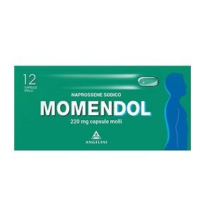 MOMENDOL 12CPS MOLLI 220MG - Farmalilla