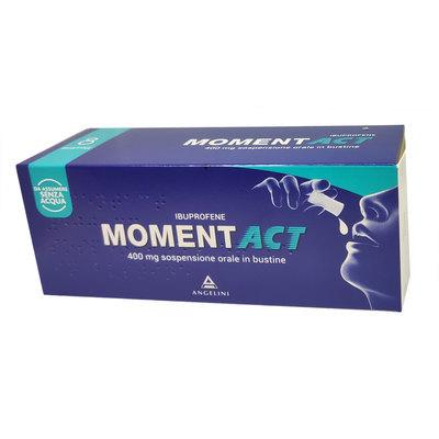 MOMENTACT*OS SOSPENSIONE ORALE  8 BUST 400MG - Farmastar.it