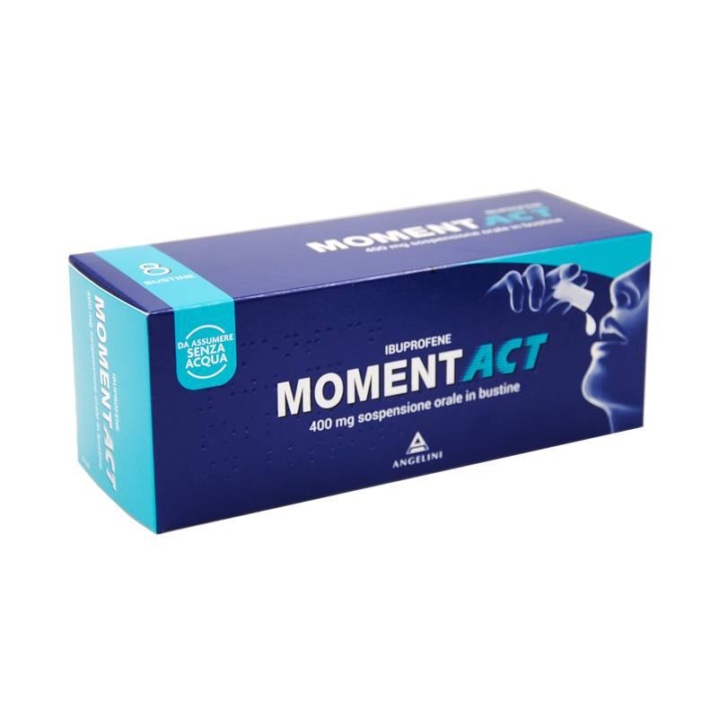 MOMENTACT*OS SOSP 8BUST 400MG - Farmafamily.it