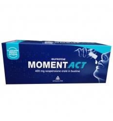 MOMENTACT*OS SOSP 8BUST 400MG - FARMAPRIME