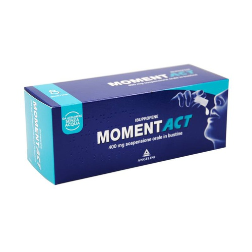 MOMENTACT SOSPENSIONE 8 BUSTINE 400MG - Farmapage.it