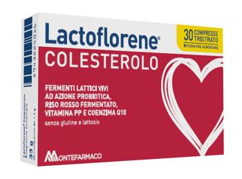 Montefarmaco Otc Lactoflorene Colesterolo 30 Compresse - Farmafamily.it