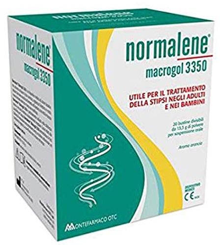 NORMALENE MACROGOL 3350 20 BUSTINE DA 13,3 G - Farmacia Centrale Dr. Monteleone Adriano