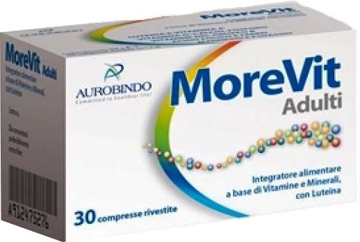 MOREVIT ADULTI 30 COMPRESSE - Farmacia Centrale Dr. Monteleone Adriano