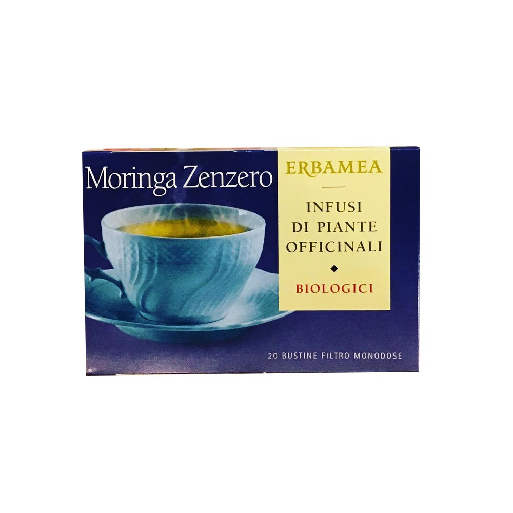 MORINGA ZENZERO BIOLOGICO 20 BUSTINE - Farmapage.it