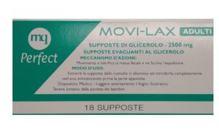 MOVI-LAX 18 SUPPOSTE DI GLICEROLO DA 2500 MG - Farmacia 33