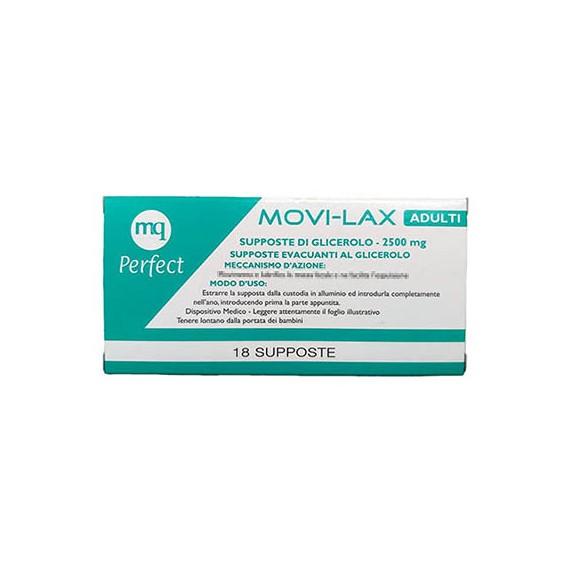 Movi-Lax 2500mg 18 Supposte di Glicerolo  - Arcafarma.it