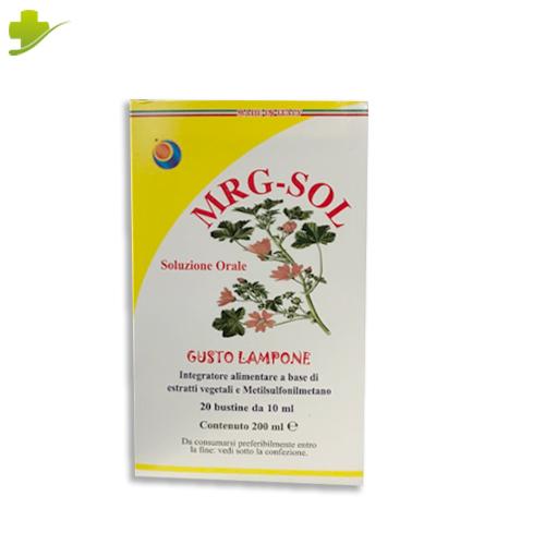 Mrg-Sol Soluzione Orale 20 Bustine 10 Ml  Herboplanet - Farmastar.it