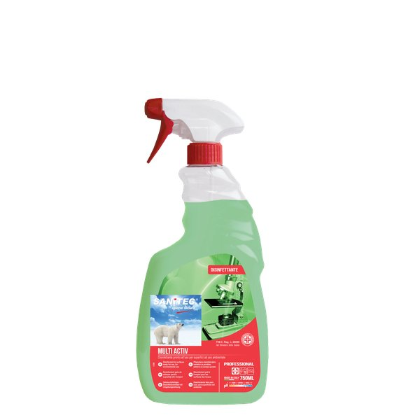 MULTI ACTIV Sanitec Disinfettante Superfici 750ml - Iltuobenessereonline.it