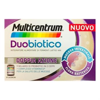 MULTICENTRUM DUOBIOTICO 8 FLACONCINI - Farmalandia
