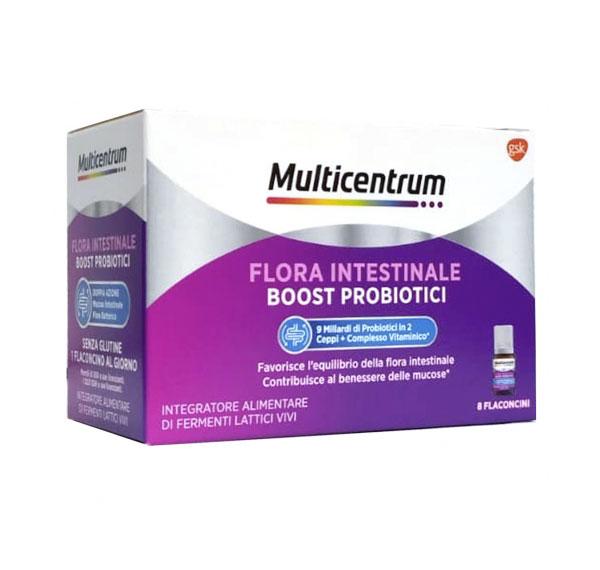Multicentrum Duobiotico Doppia Azione 8 Flaconcini - Farmacielo