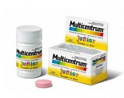 MULTICENTRUM JUNIOR 30 COMPRESSE MASTICABILI PROMO 2020 - farmaventura.it
