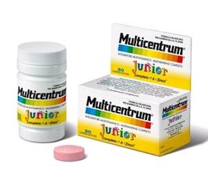 Multicentrum Junior 30 Compresse Masticabili promo 2020 - Sempredisponibile.it