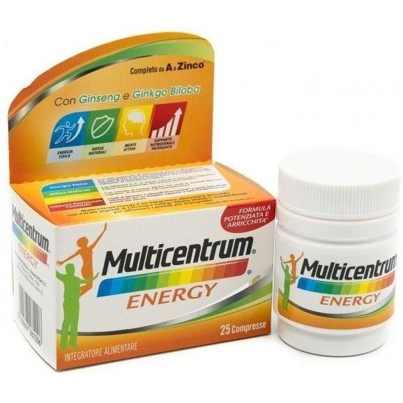 Multicentrum Energy 25 Capsule - Zfarmacia