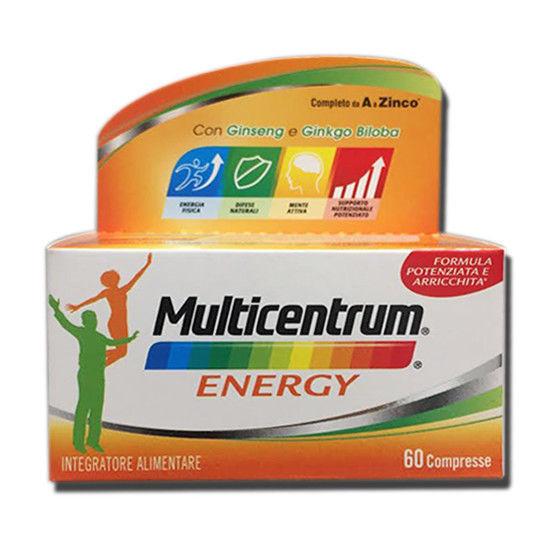 MULTICENTRUM MC ENERGY 60 CAPSULE - Zfarmacia