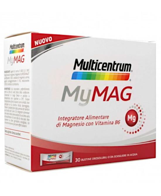 MULTICENTRUM MYMAG 30 BUSTINE - Farmaci.me