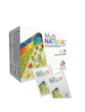 Multinatural Integratore Vitamine Minerali 30 Bustine Nutrigea - Farmastar.it