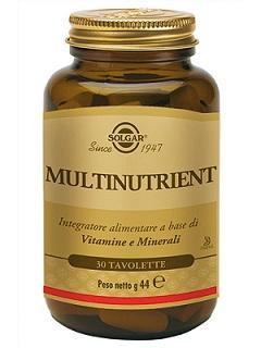 Multinutrient Solgar 30 Tavolette - Farmalilla
