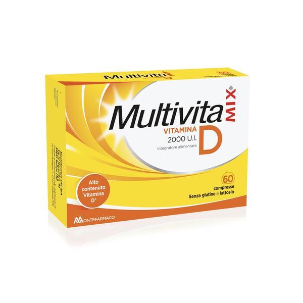 MULTIVITAMIX VITAMINA D 2000 UI 60 COMPRESSE - Farmacia Massaro