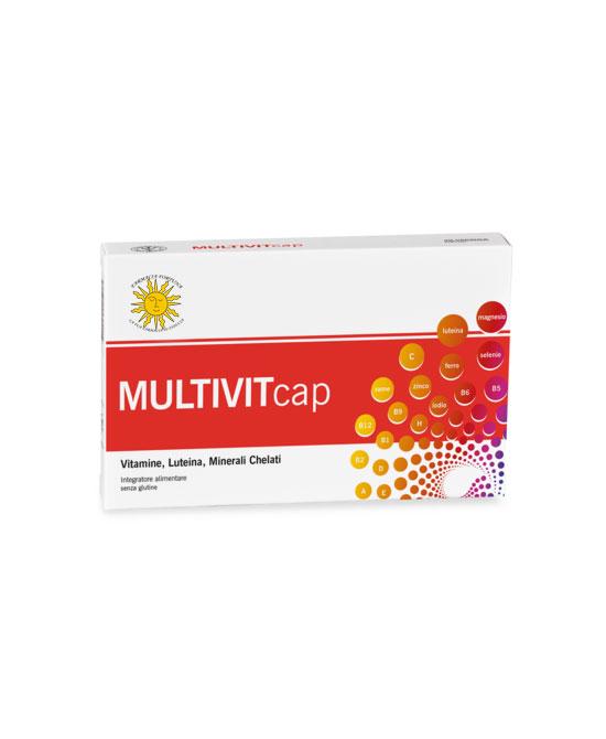 MULTIVITcap Integratore Energetico Stanchezza 30 Capsule - latuafarmaciaonline.it