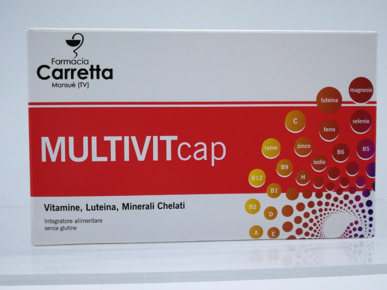 MULTIVITCAP 30 CAPSULE - Farmalandia