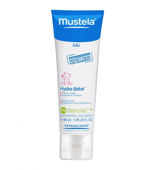 Mustela Hydra Bebe' Crema Viso 24h Bimbo 40 ml - Farmastar.it
