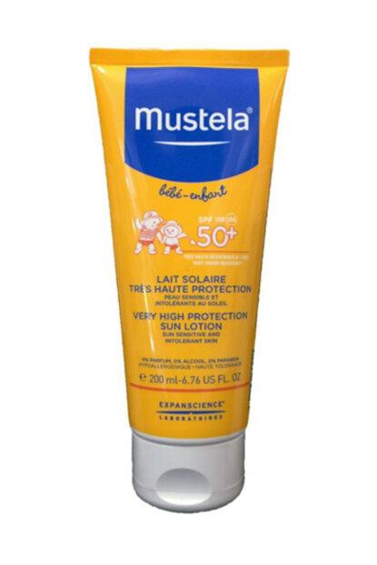 MUSTELA LATTE SOLARE SPF 50+ 200 ML - Farmaconvenienza.it