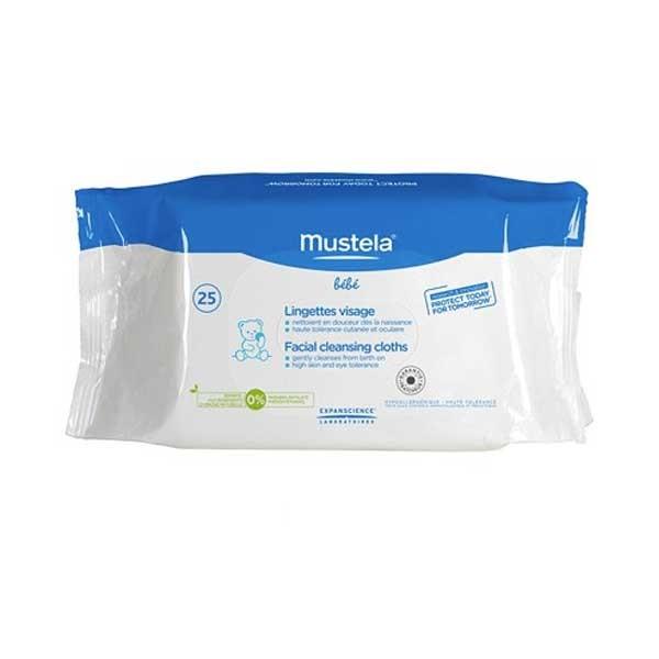 Mustela Salviette Multiuso Detergenti 25 Pezzi - Farmastar.it