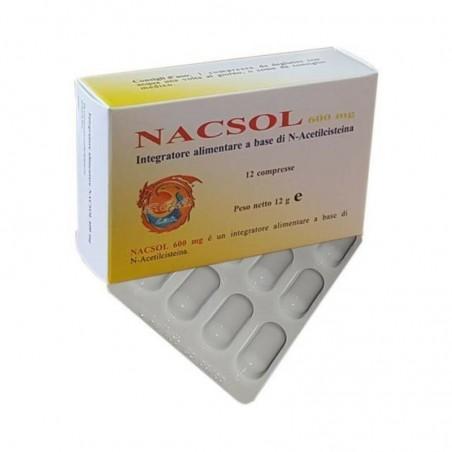 NACSOL 12 COMPRESSE - Farmastar.it