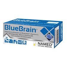 Named BLUE BRAIN Integratore Alimentare 10 Bustine - Spacefarma.it