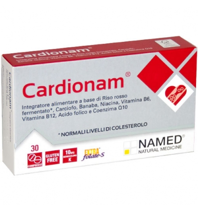 Named Cardionam Linea Colesterolo Integratore Alimentare 30 Compresse - Farmastar.it