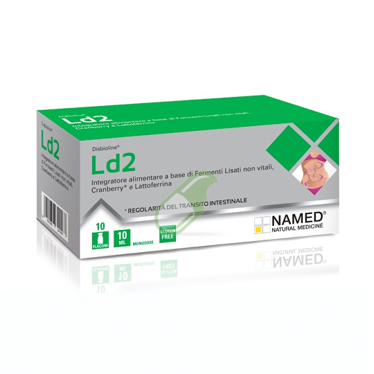 Named Ld2 Integratore Alimentare 10 Flaconcini Monodose da 10ml - Farmastar.it