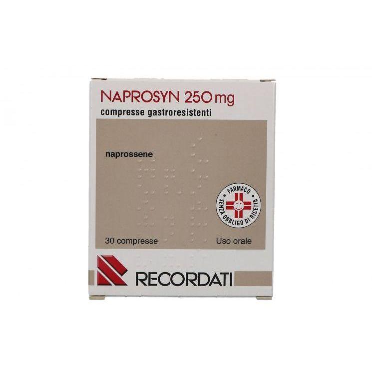 NAPROSYN*30CPR GASTR 250MG - Nowfarma.it
