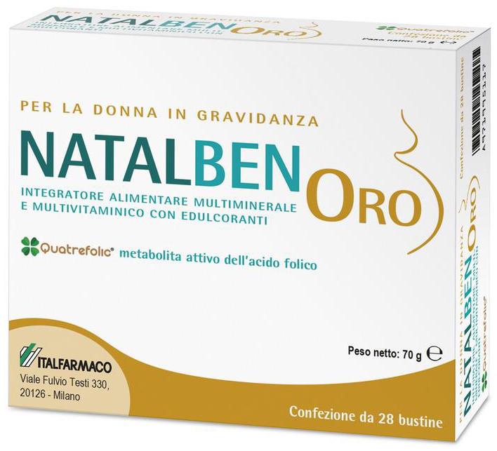 NATALBEN ORO 28 BUSTINE - Farmacia Centrale Dr. Monteleone Adriano