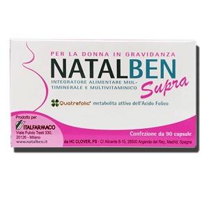 NATALBEN SUPRA 90 CAPSULE MOLLI - Farmacia33