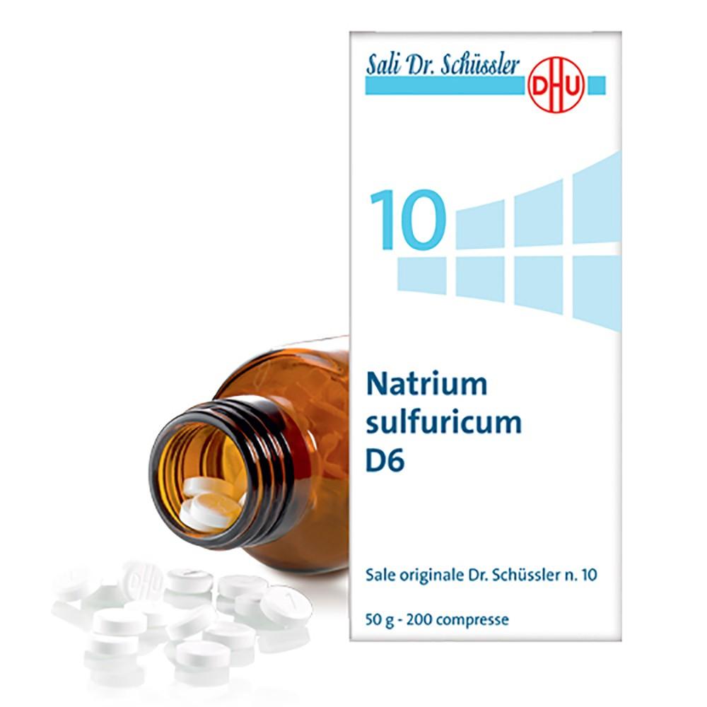DR. SCHUSS NATRIUM SULFURICUM 10 6 DH 50 G - Farmapage.it