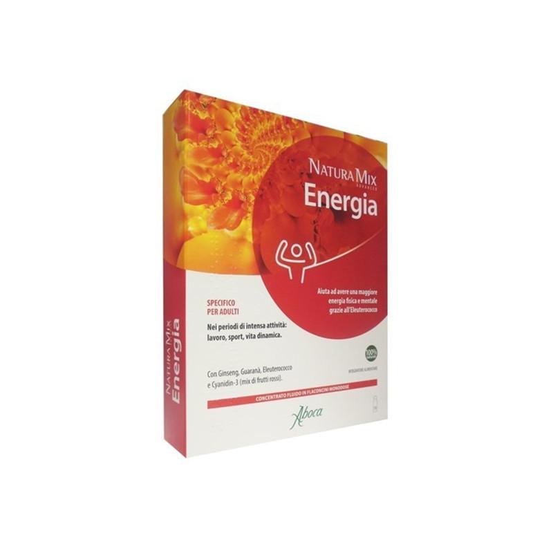 Natura Mix Advanced Energia 10 Flaconcini - Arcafarma.it