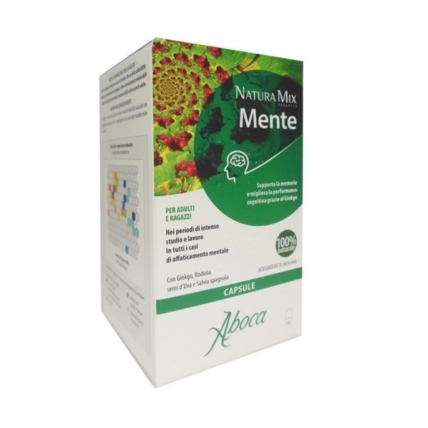 ABOCA NATURA MIX ADVANCED MENTE ABOCA 50 OPERCOLI - Farmastar.it