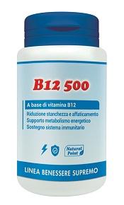 B12 500 CIANOCOBAL 100CPS VEG - Parafarmacia la Fattoria della Salute S.n.c. di Delfini Dott.ssa Giulia e Marra Dott.ssa Michela