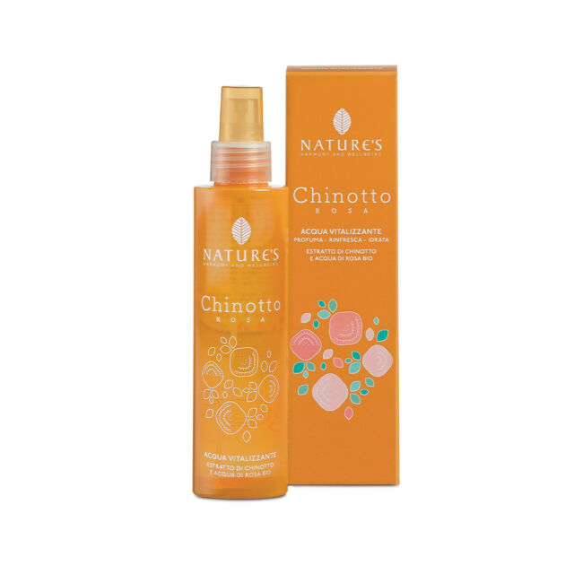 NATURE'S CHINOTTO ROSA ACQUA VITALIZZANTE 150 ML - Farmaedo.it