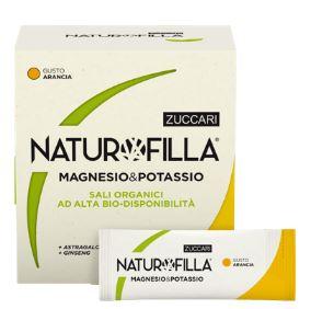 NATUROFILLA MAGNESIO & POTASSIO GUSTO ARANCIA 14 STICK PACK - Farmacia 33