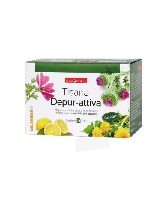 NATURPLUS TISANA DEPUR-ATTIVA 20 FILTRI - Farmapage.it