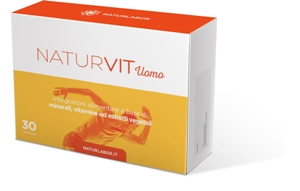 NATURVIT UOMO 30 COMPRESSE - FarmaHub.it