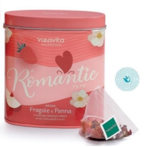 NEAVITA TEA TYPE OVAL TIN ROMANTIC - farmaciadeglispeziali.it