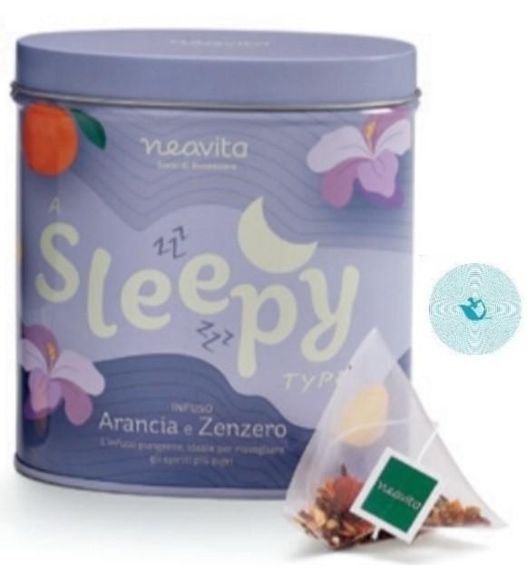 NEAVITA TEA TYPE OVAL TIN SLEEPY - farmaciadeglispeziali.it