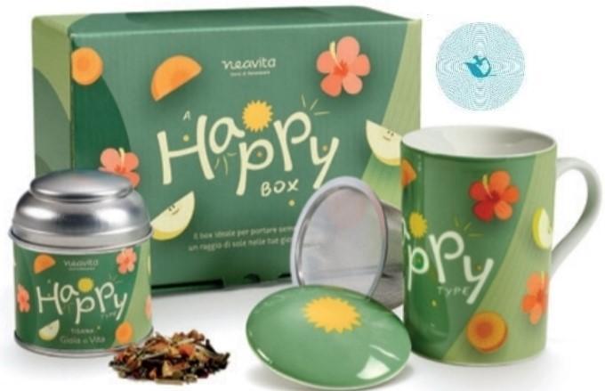 NEAVITA TEA TYPE  COFANETTO HAPPY - farmaciadeglispeziali.it
