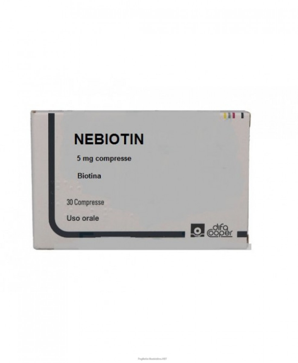 Nebiotin  5mg 30 Compresse - Farmafamily.it
