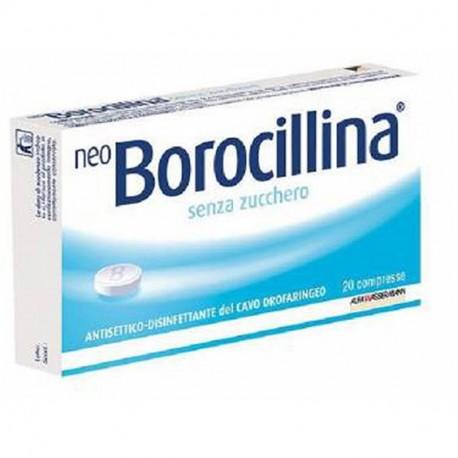 NEOBOROCILLINA 16 PASTIGLIE SENZA ZUCCHERO - La tua farmacia online