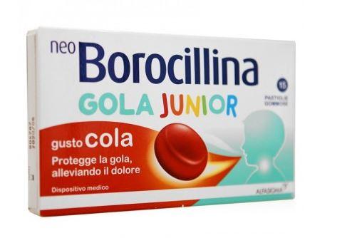 NEOBOROCILLINA GOLA JUNIOR 15 PASTIGLIE GOMMOSE - Farmacia33